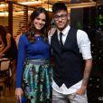 Bruna Marquezine chegou acompanhada de Neymar na churrascaria