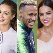 Marina Ruy Barbosa e Bruna Marquezine desejam sorte a Neymar: 'Vai com tudo!'