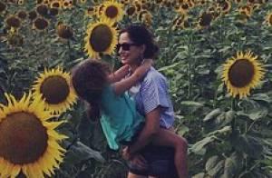 Camila Pitanga posta foto com a filha, Antonia, durante viagem à França