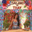 Thaynara OG realiza a segunda edição do São João da Thay no Multicenter Sebrae, no Maranhão, nesta quinta-feira, 28 de junho de 2018