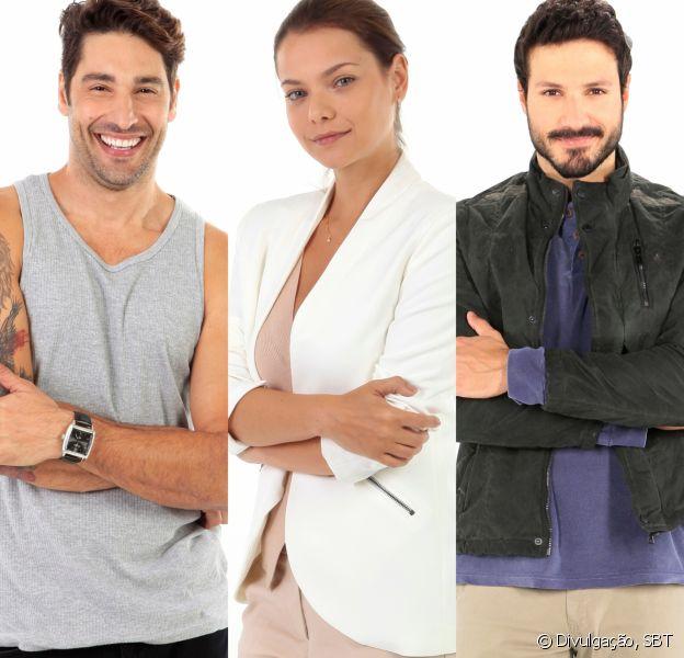 Afonso (Victor Pecoraro) vai discutir com Marcelo (Murilo Cezar) e tentar conquistar Luísa (Milena Toscano) na novela 'As Aventuras de Poliana'