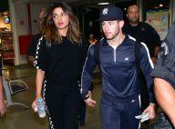 Nick Jonas e nova namorada, Priyanka Chopra, embarcam juntos em SP. Fotos!