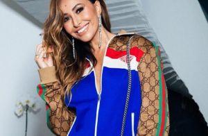 Sabrina Sato elege look Gucci de R  26 mil para aniversário da mulher de  Faustão b30314a883