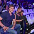 Arthur, filho de Eliana, assistiu 'Dinos Expercience' em São Paulo na noite deste sábado, 30 de junho de 2018