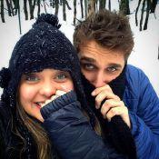 Polliana Aleixo passa férias acompanhada do namorado, no Chile