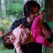 Bruno Gissoni filma 'discussão' com a filha, Madalena, de 1 ano: 'Adolescente'