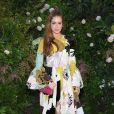 Marina Ruy Barbosa vestiu um look desfilado na coleção Outono/Inverno 2018 da Valentino