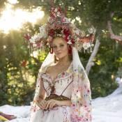 'Meu Pedacinho de Chão': figurinista comenta o vestido de noiva de Milita