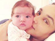 Débora Nascimento conta cuidado ao sair sem a filha, Bella: 'Leite na geladeira'