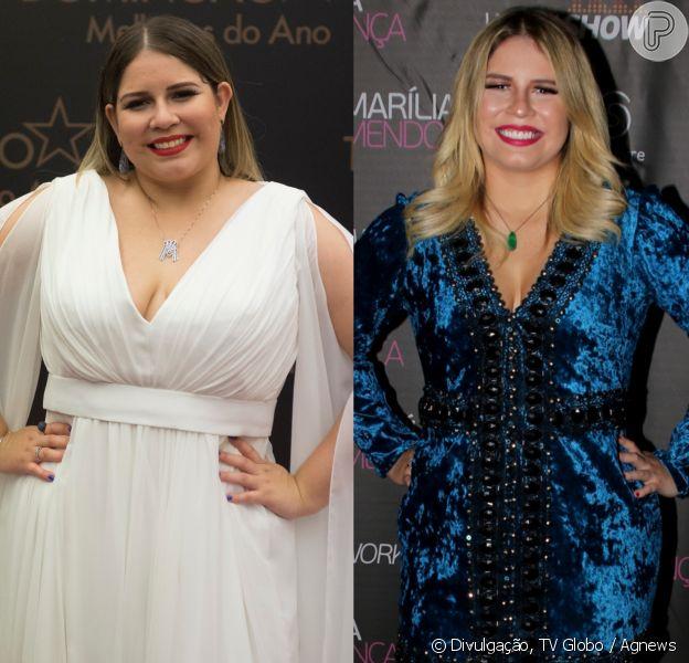 Marília Mendonça já emagreceu 20 quilos com reeducação alimentar