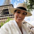 Ana Furtado publicou uma foto  em que aparece em Paris, na França