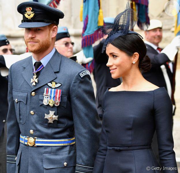Pai de Meghan Markle diz que a filha está pressionada por vida ao lado do Príncipe Harry, em 15 de julho de 2018