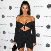 Blazer vintage D&G e bermuda de ciclismo: o look de Kim Kardashian em LA. Fotos!