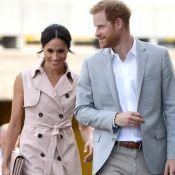 Tendência trench coat: o vestido de Meghan Markle em exposição com marido