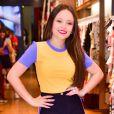 Larissa Manoela participa de lançamento de coleção da marca  Miss & Misses,  no Bom Retiro, em São Paulo, na terça-feira, 17 de julho de 2018