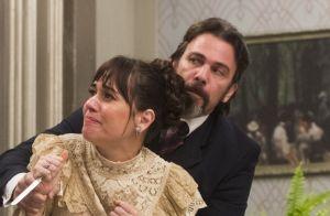 'Orgulho e Paixão':Susana fica nua ao ter vestido de noiva rasgado por Elisabeta