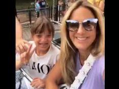 Ticiane Pinheiro curte parques na França com a filha, Rafa Justus: 'Gatinha'