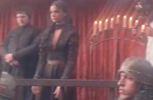 Bruna Marquezine aparece algemada em cena final de 'Deus Salve o Rei'. Vídeo!