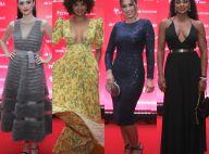 Look midi, decote e transparência: os looks das famosas em premiação no Rio