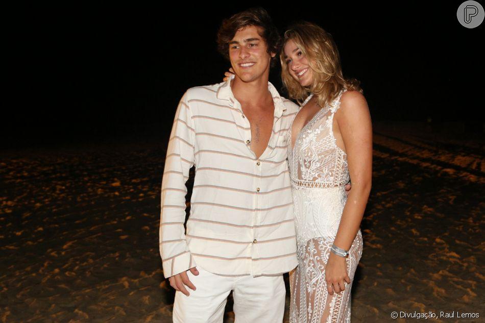 Sasha Meneghel mostrou fotos com Bruno Montaleone durante viagem a Fernando de Noronha