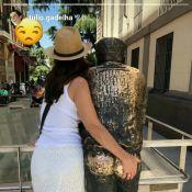 Túlio Gadêlha zoa foto de Fátima Bernardes em viagem: 'Está tendo um caso'