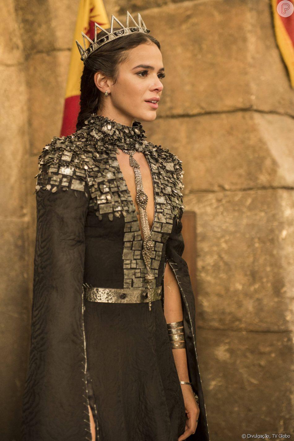 Bruna Marquezine viveu a vilã Catarina na novela 'Deus Salve o Rei'