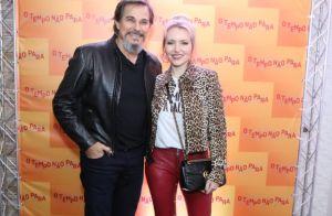 Sasha Meneghel acompanha namorado, Bruno Montaleone, em estreia de novela. Fotos