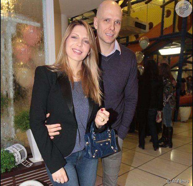 Sheila Mello e Fernando Scherer se separam