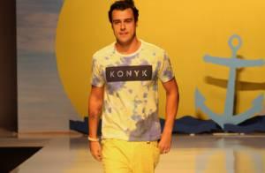 Joaquim Lopes, de 'Império', participa de desfile em semana de moda de Vitória