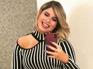 Marília Mendonça toma cerveja sem glúten após emagrecer 20 kg: 'Dá uma aliviada'