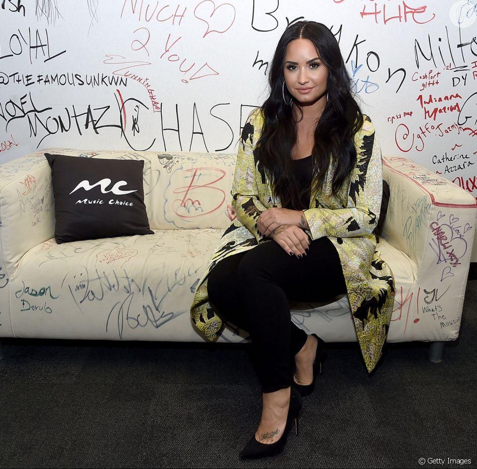 Demi Lovato foi internada em uma clínica de reabilitação após receber alta do hospital