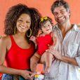 Juliana Alves e Ernani Nunes compartilham com fãs a rotina com Yolanda, de 10 meses