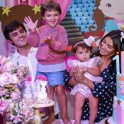 Filha de Felipe Simas vai à escola pela 1ª vez: 'Não queria voltar para casa'