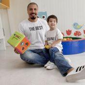 Fernando Medeiros adquiriu mais paciência com a paternidade: 'É um desafio'