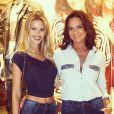 Luiza Brunet defende a filha, Yasmin: 'Ela não come maconha'