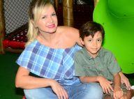 Eliana destaca generosidade do filho em aniversário de 7 anos: 'Companheirinho'
