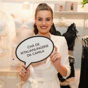 Camila Queiroz recebe Vanessa Giácomo e amigas em chá de lingerie. Fotos!
