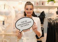 22f59a594 Camila Queiroz recebe Vanessa Giácomo e amigas em chá de lingerie. Fotos!