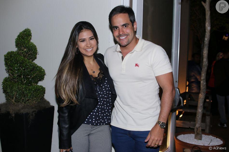 Marido de Simone, Kaká Diniz compartilhou foto de momento em família no Instagram neste sábado, 11 de agosto de 2018