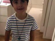 Juliana Paes se diverte ao ver filho Antônio a imitando: 'Fiz um zoador'. Vídeo!