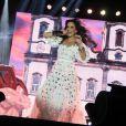 Ivete Sangalo estreou nacionalmente a sua turnê IS 20, no município de Serra, no Espírito Santo