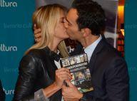 Ticiane Pinheiro troca beijos com Cesar Tralli em lançamento de livro. Fotos!