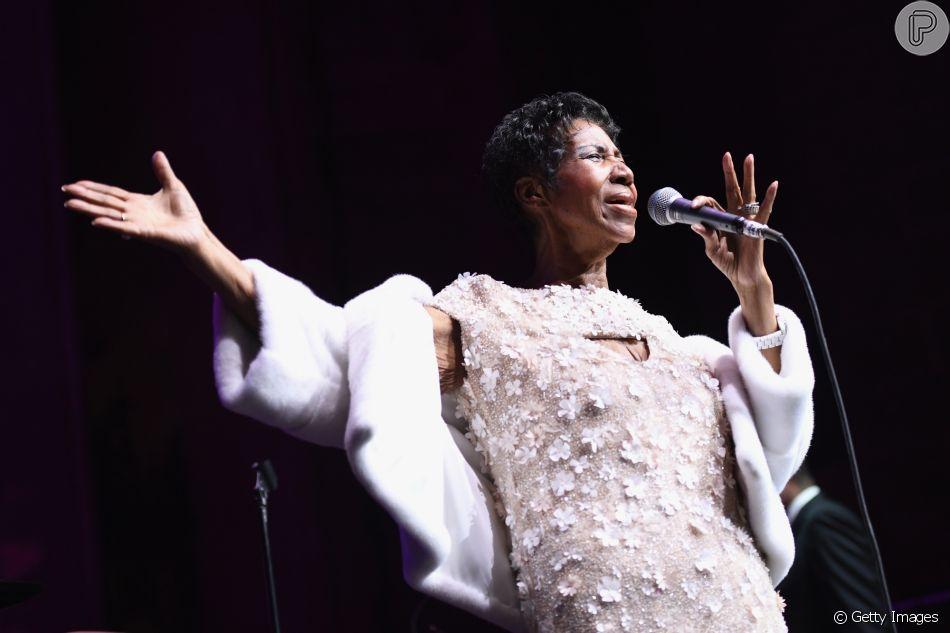 Aretha Franklin, rainha do soul music, morreu nesta quinta-feira, 16 de agosto de 2018, em Detroit, nos Estados Unidos