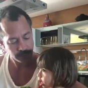 Fofura! Malvino Salvador filma a filha caçula comendo brócolis: 'Gostoso'. Vídeo