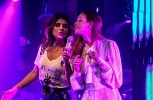 Marina Ruy Barbosa canta em show de Paula Fernandes: 'Medo do microfone'. Vídeo!