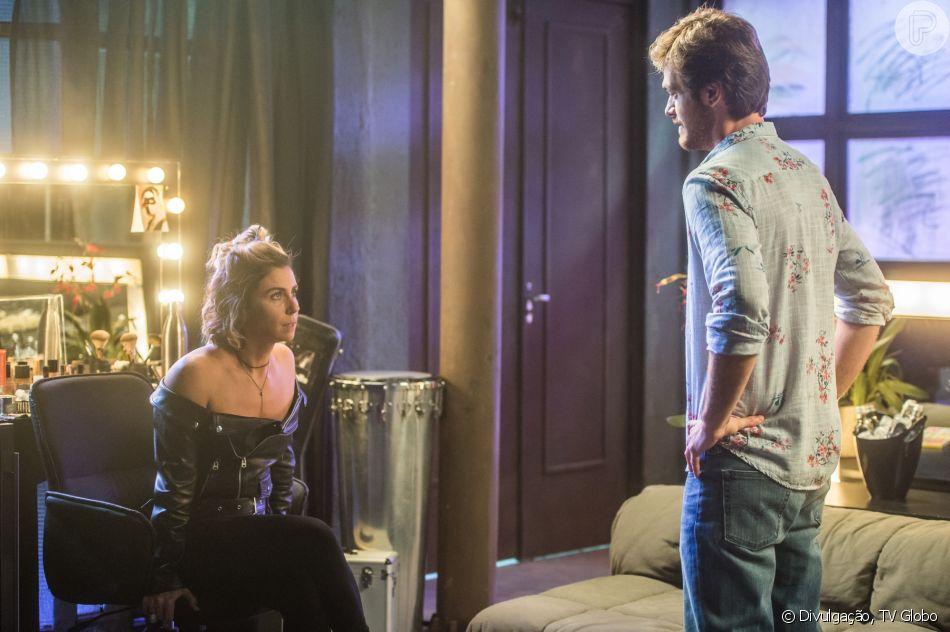 Luzia (Giovanna Antonelli) rouba R$ 50 mil de conta que tinha com Beto (Emilio Dantas) em banco no capítulo que vai ao ar dia 7 de setembro de 2018, na novela 'Segundo Sol'