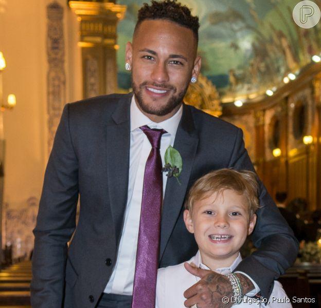 Neymar se declara em aniversário do filho, Davi Lucca, nesta sexta-feira, 24 de agosto de 2018