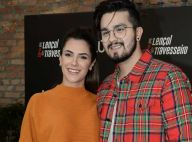 Luan Santana exalta namoro após dúvida de internauta: 'Mulher da minha vida'