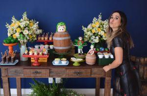 Chaves foi tema da festa de 35 anos de Tatá Werneck. Veja fotos da decoração!