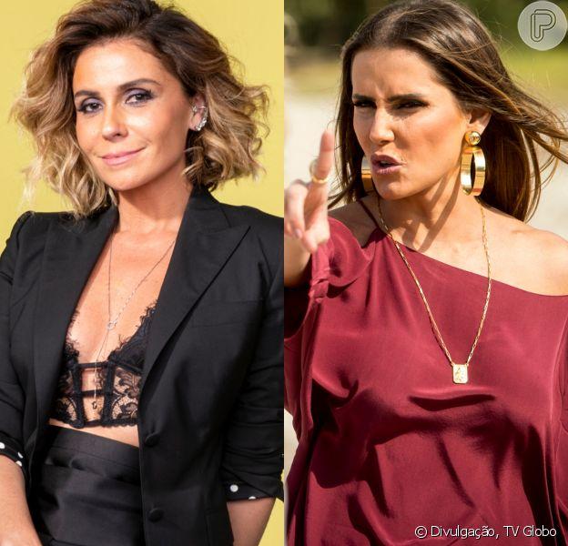 Luzia (Giovanna Antonelli) arma situação para deixar Karola (Deborah Secco) desesperada dentro de seu apartamento nas cenas previstas para irem ao ar a partir do dia 21 de setembro de 2018 na novela 'Segundo Sol'